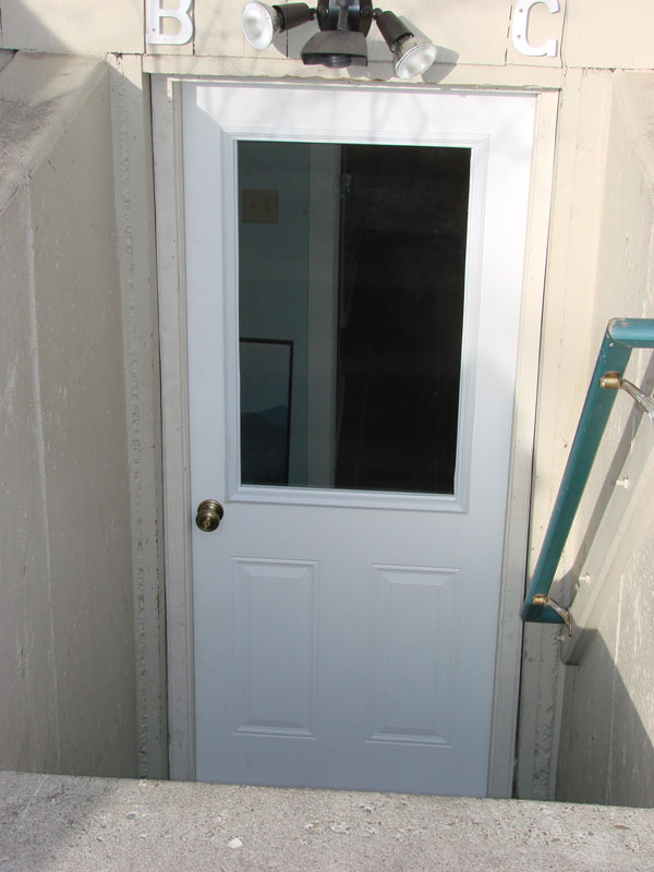 Exterior pictures for Exterior basement access doors